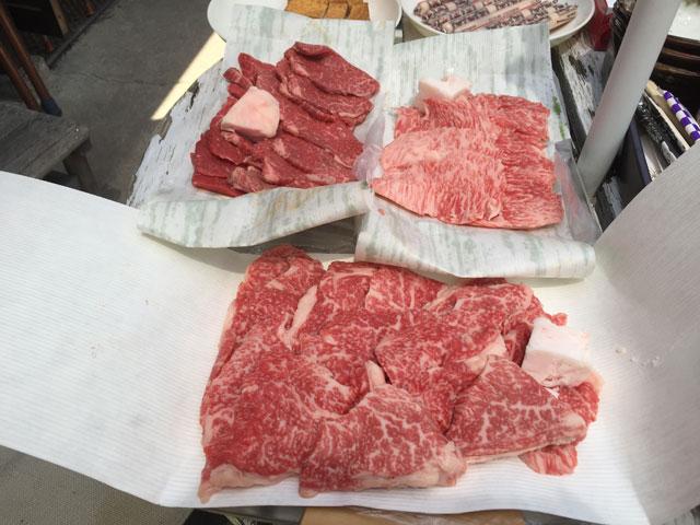 焼肉用の神戸牛