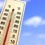 高い気温の日