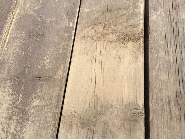 研磨した板