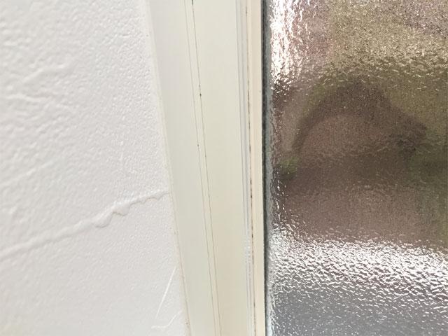掃除前の窓