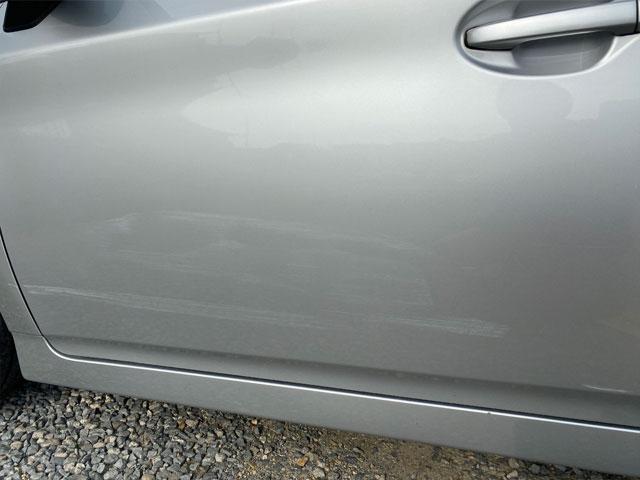 コンパウンドを試した車の傷